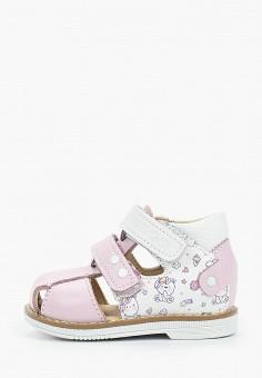 Сандалии, Tapiboo, цвет: розовый. Артикул: TA036AGHWJM7.