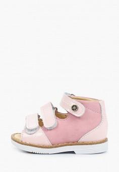 Сандалии, Tapiboo, цвет: розовый. Артикул: TA036AGHWJM9.