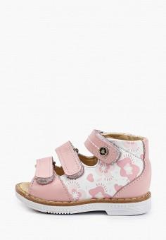 Сандалии, Tapiboo, цвет: розовый. Артикул: TA036AGHWJN0.