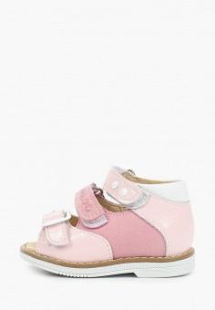 Сандалии, Tapiboo, цвет: розовый. Артикул: TA036AGHWJN5.