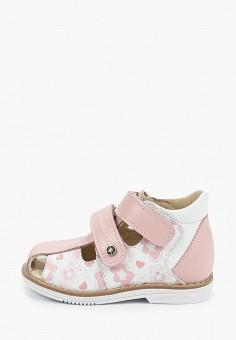 Сандалии, Tapiboo, цвет: розовый. Артикул: TA036AGHWJR2.