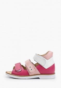 Сандалии, Tapiboo, цвет: розовый. Артикул: TA036AGHWJS0.