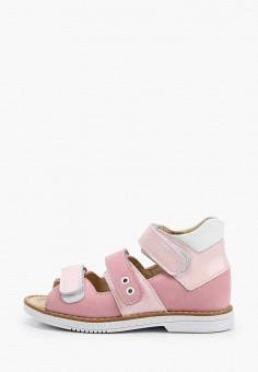 Сандалии, Tapiboo, цвет: розовый. Артикул: TA036AGHWJS1.