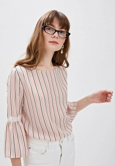 Блуза, Taifun, цвет: розовый. Артикул: TA037EWDRTO4. Одежда / Блузы и рубашки / Блузы