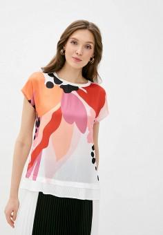Блуза, Taifun, цвет: мультиколор. Артикул: TA037EWJGPF0. Одежда / Блузы и рубашки