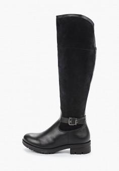 Ботфорты, Tamaris, цвет: черный. Артикул: TA171AWGANK7. Обувь / Сапоги / Ботфорты