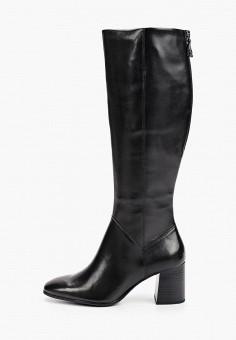 Сапоги, Tamaris, цвет: черный. Артикул: TA171AWGAQS4. Обувь / Сапоги