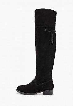 Ботфорты, Tamaris, цвет: черный. Артикул: TA171AWGAQT1. Обувь / Сапоги