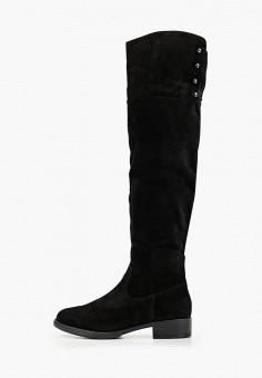 Ботфорты, Tamaris, цвет: черный. Артикул: TA171AWGAQW3. Обувь / Сапоги / Ботфорты