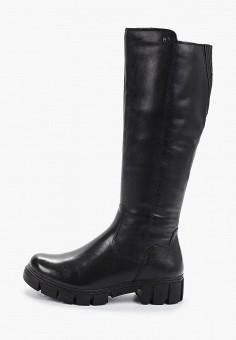Сапоги, Tamaris, цвет: черный. Артикул: TA171AWGAQW6. Обувь / Сапоги / Сапоги