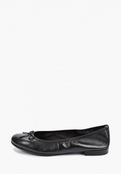 Балетки, Tamaris, цвет: черный. Артикул: TA171AWIJZG1. Обувь / Балетки