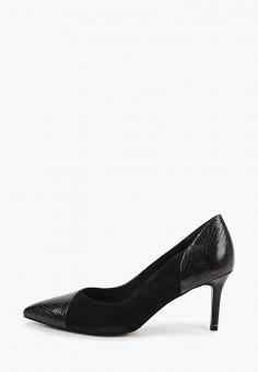 Туфли, Tamaris, цвет: черный. Артикул: TA171AWIJZH0. Обувь / Туфли / Лодочки
