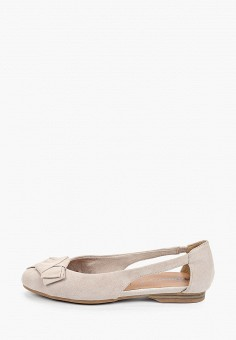 Туфли, Tamaris, цвет: серый. Артикул: TA171AWIJZM7.
