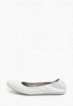 Балетки, Tamaris, цвет: белый. Артикул: TA171AWIJZO5. Обувь / Балетки