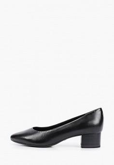 Туфли, Tamaris, цвет: черный. Артикул: TA171AWIJZO9. Обувь / Обувь с увеличенной полнотой