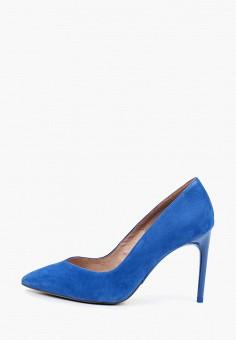 Туфли, Tamaris, цвет: синий. Артикул: TA171AWIKAC2.