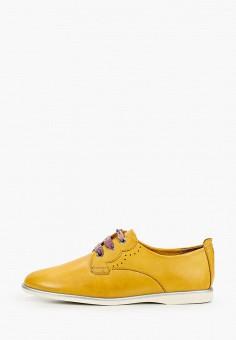 Ботинки, Tamaris, цвет: желтый. Артикул: TA171AWIKAE0.