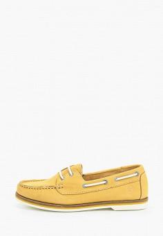 Топсайдеры, Tamaris, цвет: желтый. Артикул: TA171AWIKAG2.