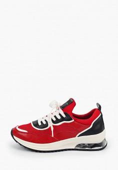 Кроссовки, Tamaris, цвет: красный. Артикул: TA171AWIKAH3. Обувь / Обувь с увеличенной полнотой