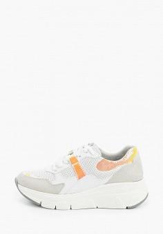 Кроссовки, Tamaris, цвет: белый. Артикул: TA171AWIKAI2.