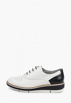 Ботинки, Tamaris, цвет: белый. Артикул: TA171AWIKAJ0. Обувь / Обувь с увеличенной полнотой