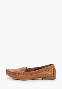 Мокасины, Tamaris, цвет: коричневый. Артикул: TA171AWIKAL9. Обувь