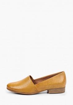 Туфли, Tamaris, цвет: желтый. Артикул: TA171AWIKAW6.