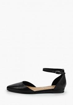 Туфли, Tamaris, цвет: черный. Артикул: TA171AWIKAY0.