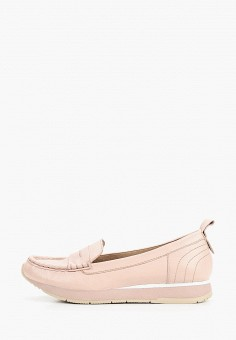 Мокасины, Tamaris, цвет: розовый. Артикул: TA171AWIKBA3. Обувь / Мокасины и топсайдеры