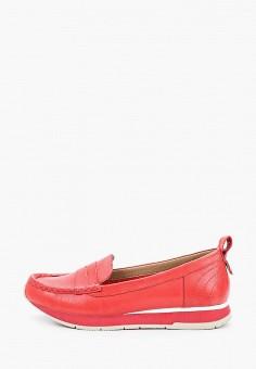 Мокасины, Tamaris, цвет: красный. Артикул: TA171AWIKBA4.