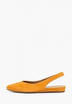 Туфли, Tamaris, цвет: оранжевый. Артикул: TA171AWIKBU0. Обувь / Туфли