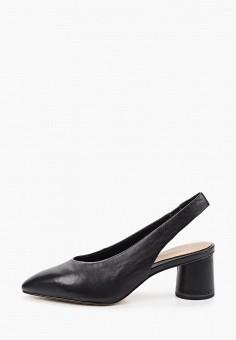Туфли, Tamaris, цвет: черный. Артикул: TA171AWIKBU7. Обувь / Туфли