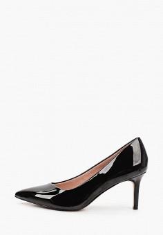 Туфли, Tamaris, цвет: черный. Артикул: TA171AWKFMP2. Обувь / Туфли / Лодочки