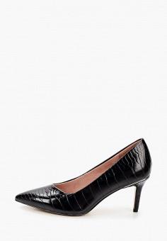 Туфли, Tamaris, цвет: черный. Артикул: TA171AWKFMP3. Обувь / Туфли
