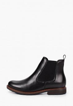 Ботинки, Tamaris, цвет: черный. Артикул: TA171AWKFMT0. Обувь / Ботинки / Челси