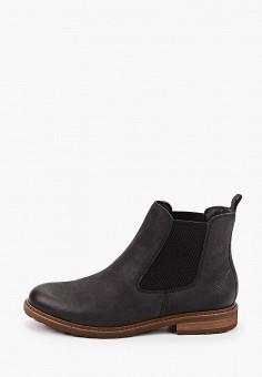 Ботинки, Tamaris, цвет: черный. Артикул: TA171AWKFMT1. Обувь / Ботинки / Челси