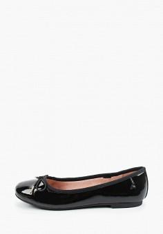 Балетки, Tamaris, цвет: черный. Артикул: TA171AWKFNW1. Обувь / Балетки