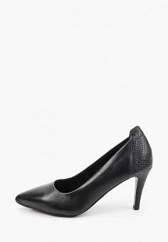 Туфли, Tamaris, цвет: черный. Артикул: TA171AWKFNX8. Обувь / Туфли / Лодочки