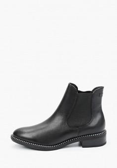 Ботинки, Tamaris, цвет: черный. Артикул: TA171AWKFNZ9. Обувь / Ботинки / Челси