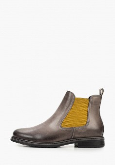 Ботинки, Tamaris, цвет: серый. Артикул: TA171AWKFOA4. Обувь / Ботинки / Челси