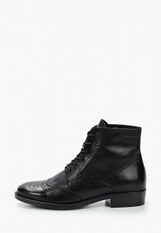 Ботинки, Tamaris, цвет: черный. Артикул: TA171AWKFOB9. Обувь