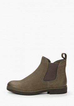 Ботинки, Tamaris, цвет: бежевый. Артикул: TA171AWKFOD7. Обувь / Ботинки / Низкие ботинки