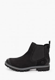 Ботинки, Tamaris, цвет: черный. Артикул: TA171AWKFOE2. Обувь / Ботинки / Челси