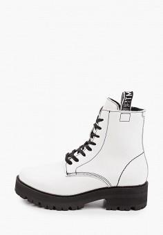 Ботинки, Tamaris, цвет: белый. Артикул: TA171AWKFOF6. Обувь / Ботинки / Высокие ботинки