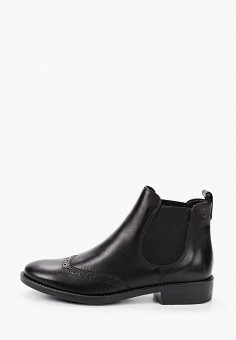 Ботинки, Tamaris, цвет: черный. Артикул: TA171AWKFOG0. Обувь / Ботинки / Челси