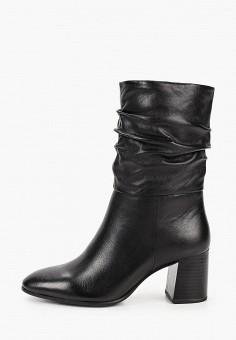Полусапоги, Tamaris, цвет: черный. Артикул: TA171AWKFPB0. Обувь / Сапоги / Полусапоги