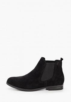Ботинки, Tamaris, цвет: черный. Артикул: TA171AWKFPC5. Обувь / Ботинки / Челси