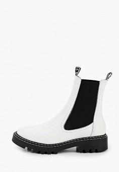 Ботинки, Tamaris, цвет: белый. Артикул: TA171AWKFPE2. Обувь / Ботинки / Челси