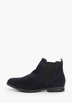 Ботинки, Tamaris, цвет: серый. Артикул: TA171AWKKFU1. Обувь / Ботинки / Челси