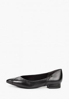 Туфли, Tamaris, цвет: черный. Артикул: TA171AWKKFU5. Обувь / Туфли